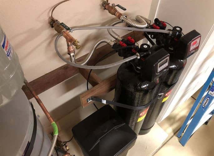 twin tank water filtration system
