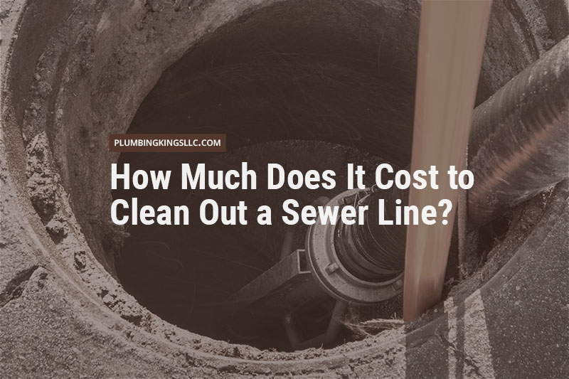 Open sewer with cleaning equipment