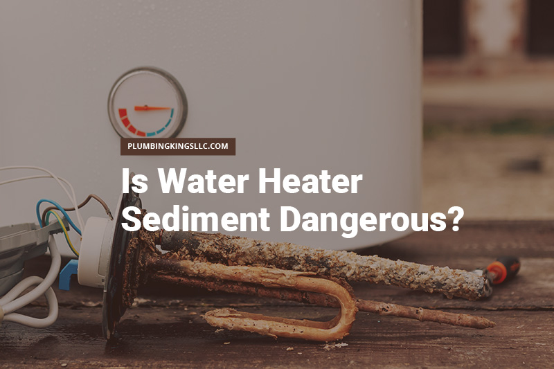 water heater sediment buildup on a heating element